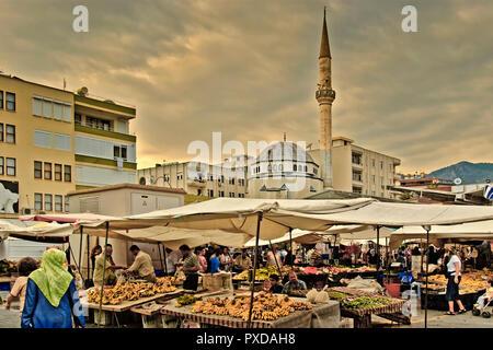 Turkey Alanya Market Place - Stock Image