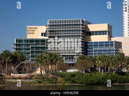 Tampa Bay History Center, Florida, USA, tracking - Stock Image