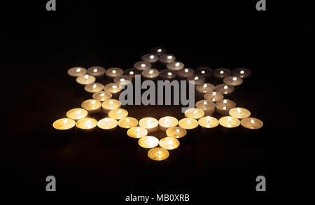 Holocaust Remembrance Day - Stock Image