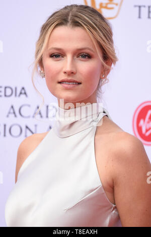 LONDON, UK. May 12, 2019: Lily Travers arriving for the BAFTA TV Awards 2019 at the Royal Festival Hall, London. Picture: Steve Vas/Featureflash - Stock Image