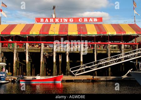 Barking Crab Seaside Restaurant Boston Massachusetts - Stock Image