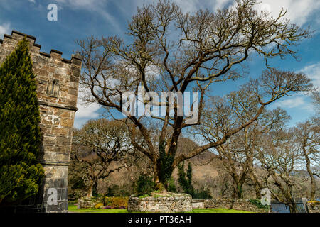 A castle (from Latin: castellum) is a type of fortified structure built during the Middle Ages by predominantly the nobility or royalty. - Stock Image
