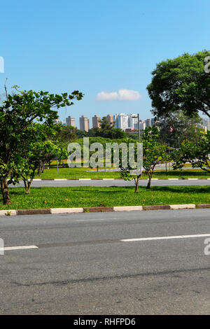 USP, University of Sao Paulo, campus. Brazil. South America - Stock Image
