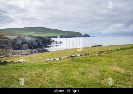 Ireland countryside at west cork - Stock Image