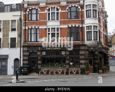 The Larrick Pub, Marylebone, London. UK - Stock Image