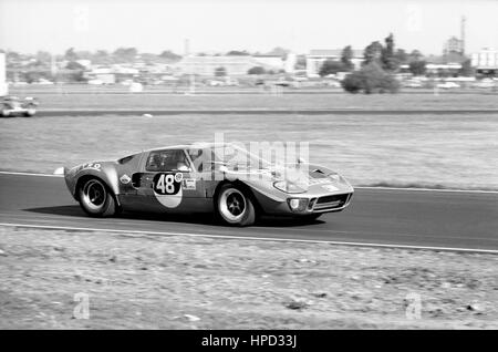 1969 Dominique Martin French Ford GT40 Buenos Aires 1000Ks dnf - Stock Image