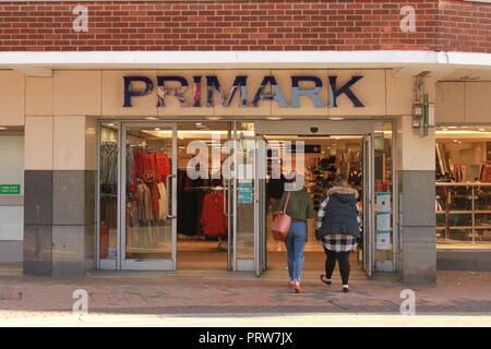 Primark shop front, Gloucester - Stock Image