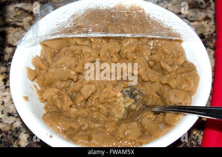 gourmet beef gravy - Stock Image