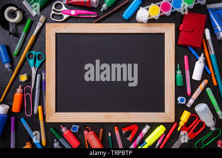 Education, Back to School concept with copy space - Stock Image