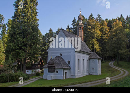 The Pilgrimage Church Of The Visitation Of The Virgin Mary In Kirchwald Is Probably The Most Important Ecclesiastical Building In The Region - Stock Image