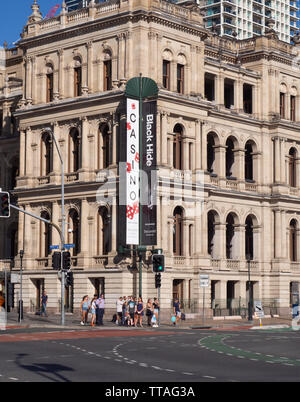 Casino Building in Brisbane - Stock Image