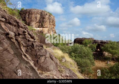 Cannon Hill region near East Alligator River, West Arnhem Land, Australia - Stock Image