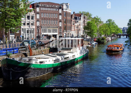 The Prinsengracht canal in Amsterdam, Netherlandss - Stock Image