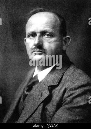 HANS FISCHER (1881-1945) German organic chemist in 1930 - Stock Image