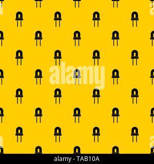 Halogen lamp pattern vector - Stock Image
