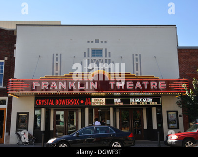 Movie theater in Franklin, Tennessee, USA - Stock Image