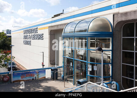 Arts & Leisure Centre, Stevenage, Hertforshire - Stock Image