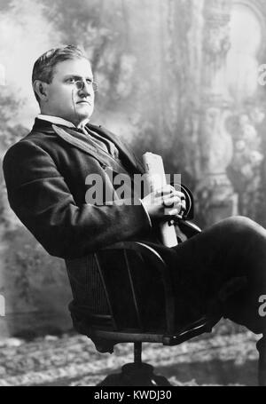 South Carolina Senator Benjamin Ryan Tillman, c. 1905. He came of age during the Civil War and established his family - Stock Image