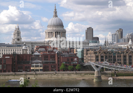 St Pauls Cathedral London - Stock Image