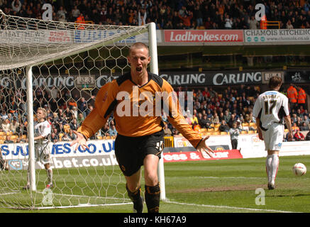 Footballer Kenny Miller Wolverhampton Wanderers v Sheffield United 08 May 2005 - Stock Image