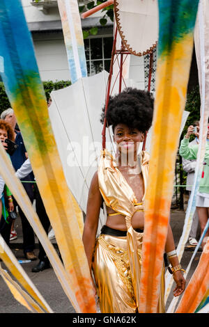 London, UK. 29th Aug, 2016. Celebrations at the Notting Hill Carnival in London on the 29th of August 2016. © - Stock Image