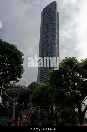 Orchard Residences tower, Singapore, Asia - Stock Image