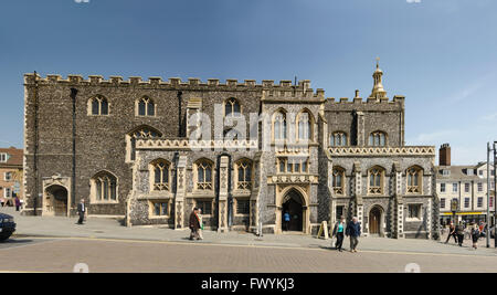 THe Guildhall Norwich Norfolk UK - Stock Image