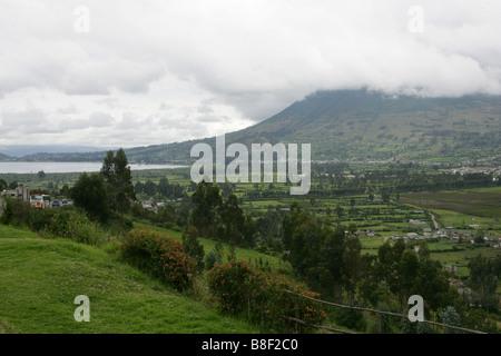 Otavalo Valley, Imbabura Near Quito, Ecuador, South America. - Stock Image