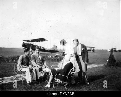 AL009B 223 Hicksville Aviation Country Club, Hicksville, NY - Stock Image