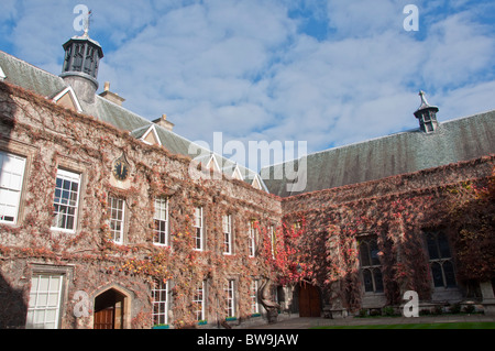 Lincoln College Front Quad - Stock Image