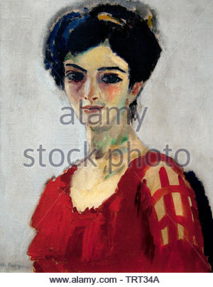 Maria by Kees van Dongen (Cornelis Theodorus Maria) born in 1877 was a Dutch-French painter who was one of the leading Fauves. The Netherlands, France. - Stock Image