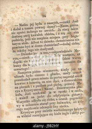 PL Hans Christian Andersen Tylko grajek tom I 040 - Stock Image