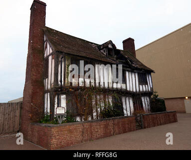 View of the Potters Cottage, Godric's Hollow, Warner Brothers Studio Tour, Leavesdon - Stock Image