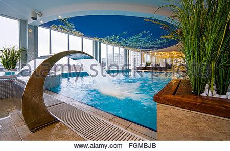 Forum hotel, Tallinn, Estonia - Stock Image