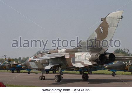 Tornado Rivolto Italia Air show 2005 - Stock Image