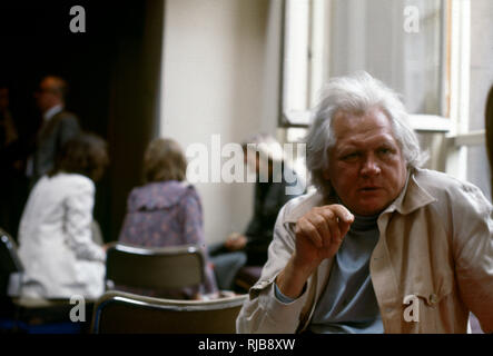 Henry Kenneth Alfred Russell (1927-2011) - British film director, known for his pioneering work in television and film and for his flamboyant and controversial style. - Stock Image