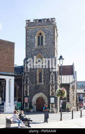 St Margaret's Church, Windsor Street, Uxbridge, London Borough of Hillington, Greater London, England, United Kingdom - Stock Image