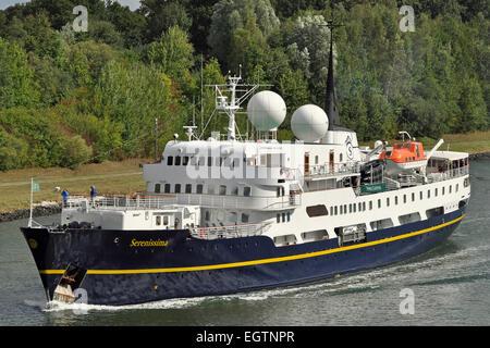 Cruiseship Serenissima - Stock Image