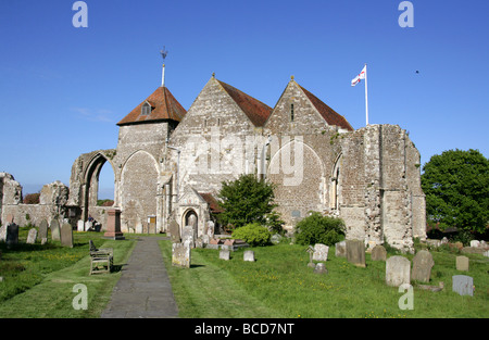 St Thomas's Church, Winchelsea, East Sussex, UK - Stock Image