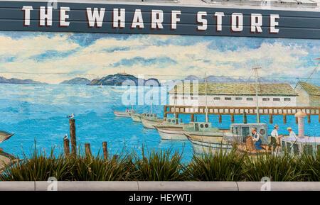 San Francisco Fisherman's wharf - Stock Image