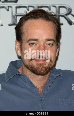 Cast member Matthew MacFadyen arrives for a photo call on the film 'The Three Musketeers'in Munich, - Stock Image