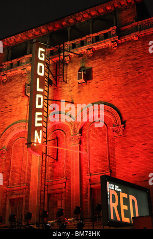 Red, Golden Theatre, New York April 2010 - Stock Image