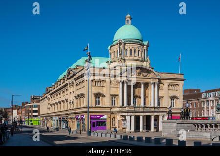 Hull City Hall,Kingston upon Hull,England - Stock Image