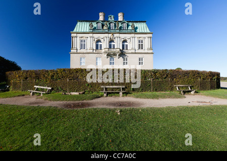 The Hermitage, Hunting Lodge in Royal Deer Park Klampenborg, Copenhagen, Sjaelland, Denmark - Stock Image