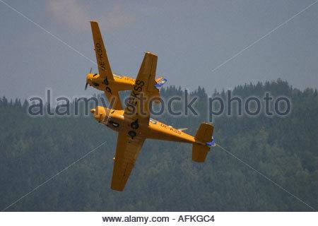 Zeltweg 2005 AirPower 05 airshow Austria - Stock Image