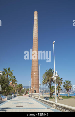 Chimenea Mónica (Monica´s chimney). Málaga, Andalusia, Spain. - Stock Image