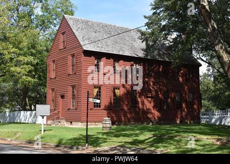 The Palmer-Marsh House located in historic Bath, North Carolina. - Stock Image