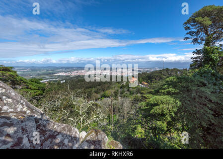 View on Portuguese countryside - Stock Image