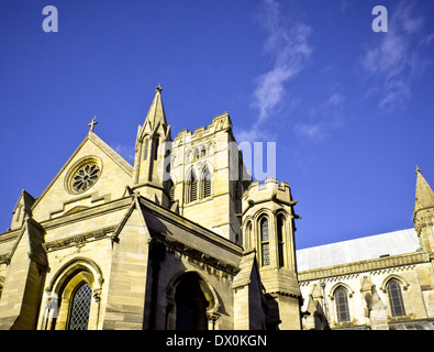 View of part of Norwich Roman Catholic Cathedral in the UK - Stock Image