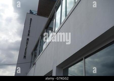 Design Museum, Shad Thames, London, UK - Stock Image